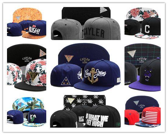 Barato esportes ao ar livre de alta qualidade chapéus cayler filhos hip hop moda ajustável chapéus homens e mulheres top qualidade snapbacks bonés de beisebol