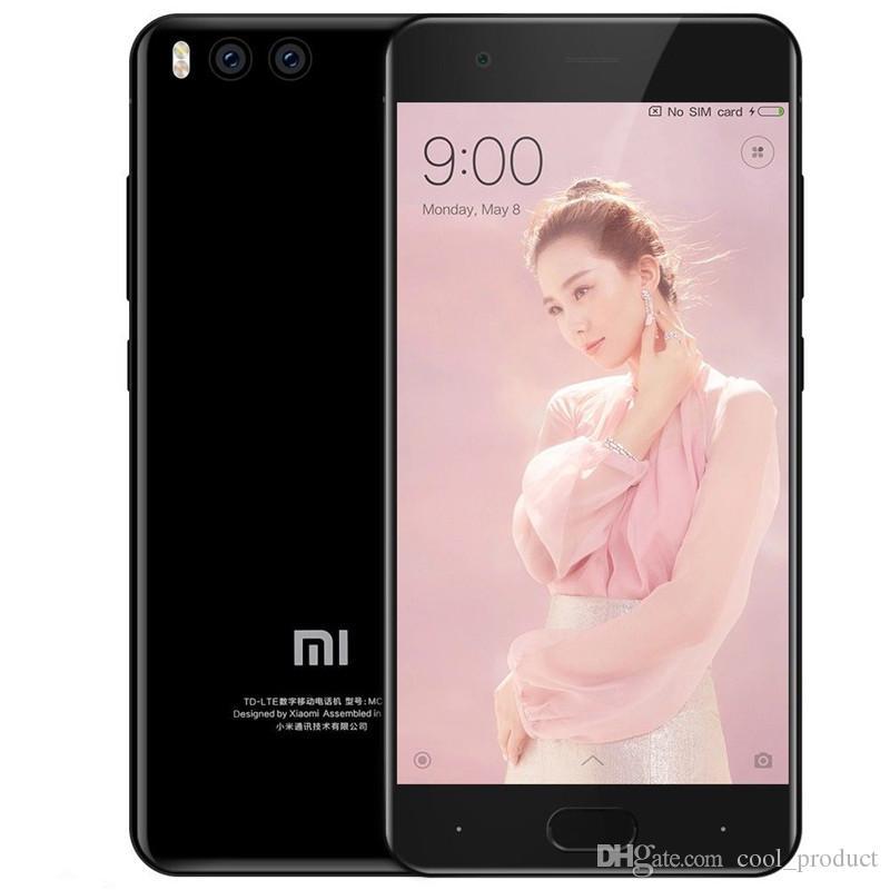 """원래 xiaomi mi6 mi 6 4g LTE 휴대 전화 6GB RAM 64GB 128GB ROM Snapdragon 835 Octa Core Android 5.15 """"화면 12.0MP 3350mAh 지문 ID 얼굴 스마트 휴대 전화"""