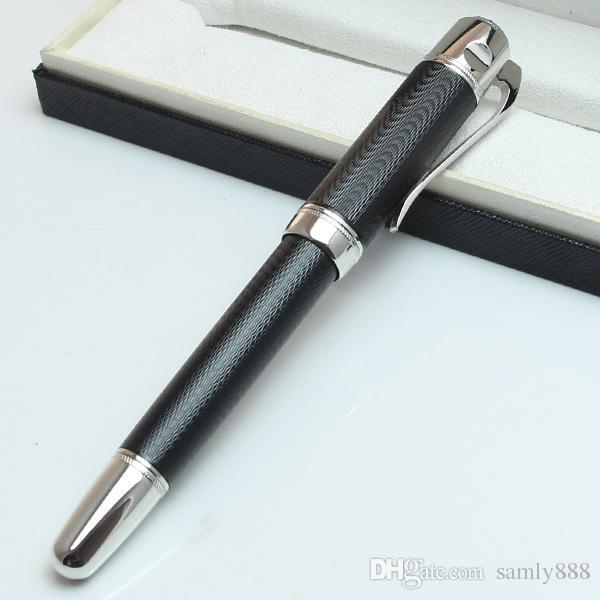 Bolígrafo de lujo M Rollerball negro Gran escritor Jules Verne edición limitada Bolígrafos de opciones negro-rojo-azul 14873/18500