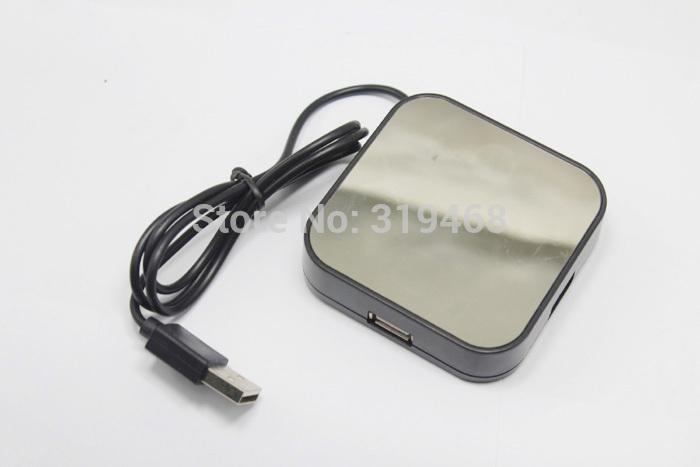 160pcs / lot RA alta velocità 4 porte USB 2.0 Hub del cavo del divisore Magico Adattatore Specchio disegno di trasporto 0001