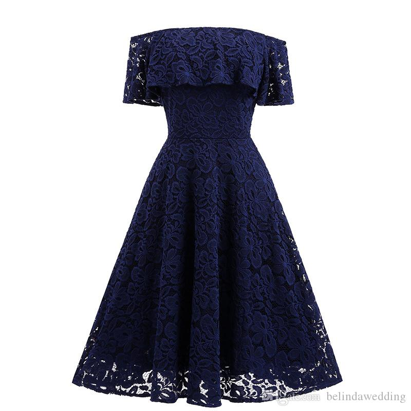 Dresses Evening Wear New A-Line Hunter Green Evening Dress Vintage Cheap Off Shoulder Formal Prom Party Gowns sleeves