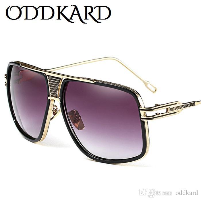 Oddkard dtc سلسلة شقة الأعلى الصيف أزياء للرجال والنساء الفاخرة مصمم الطيار نظارات شمس oculos دي سول uv400 OK36179