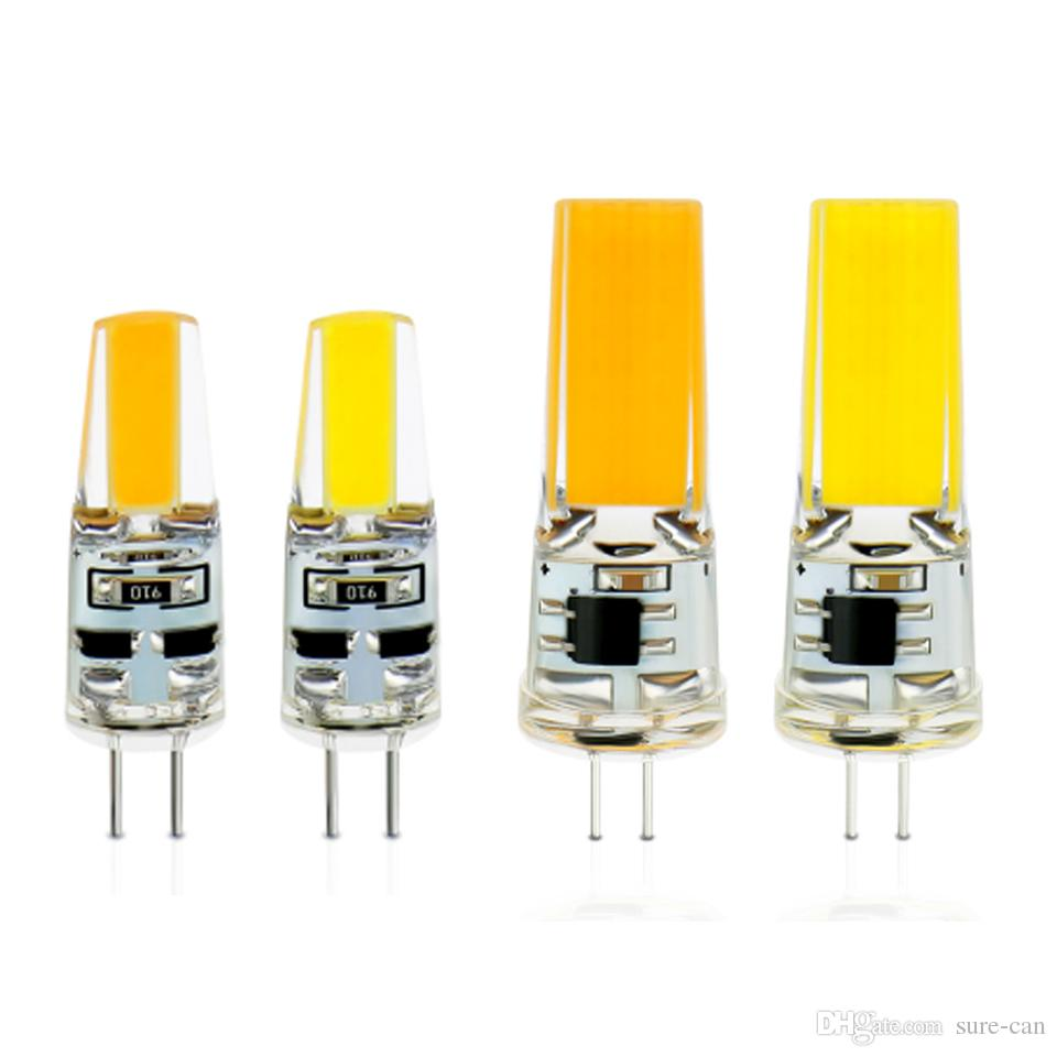 Ac Dc 12v G4 Cob Led Bulb Lamp 3w 6w Replace 10w 30w Halogen Lamp