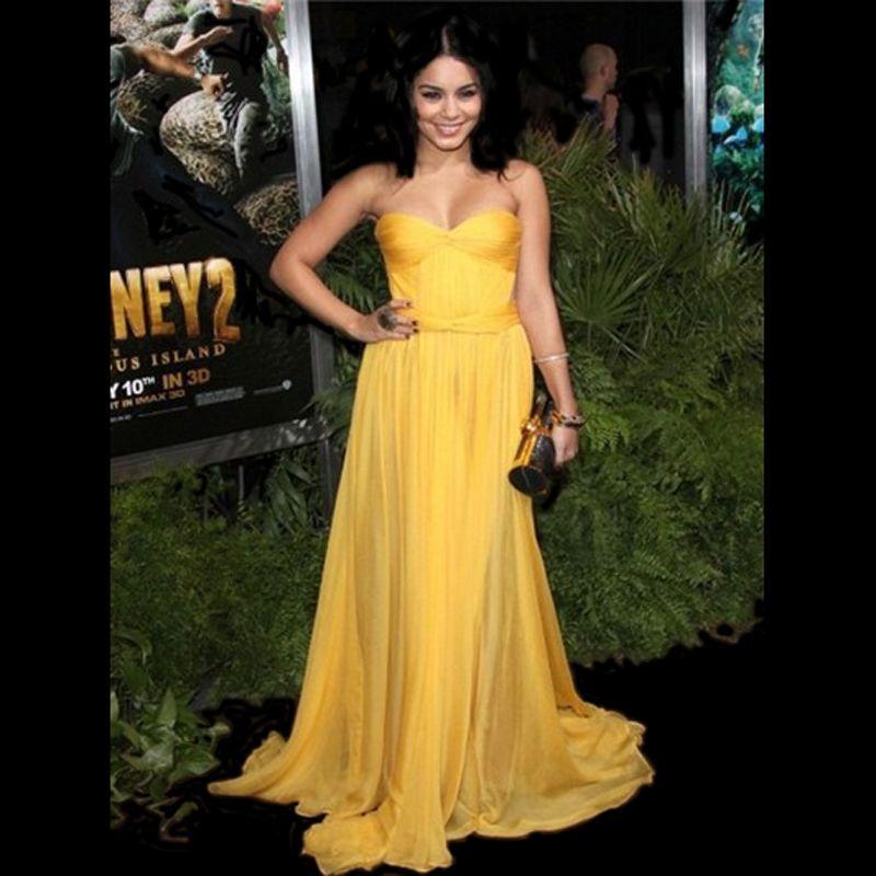 Hot Kim Kardashian Dress Vanessa Hudgens Sweetheart Prom Gowns