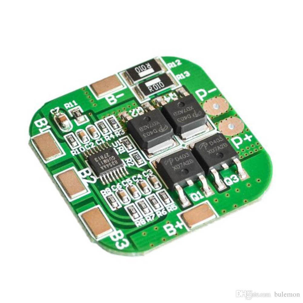 2pcs/lot 4S 14.8V / 16.8V 20A Peak Li-ion BMS PCM Battery Protection Board BMS PCM for Lithium LicoO2 Limn2O4 18650 Li Battery