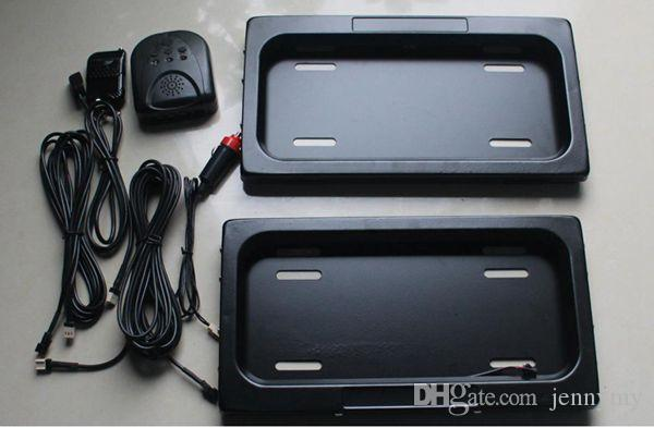 GB666U hide your number plate frame curtain cover number car icense plate frame flipover hide CCTV