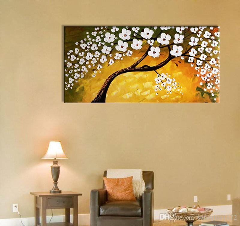 3D Flower Wall Painting Home Decoration 100% Handmade Oil Painting ...