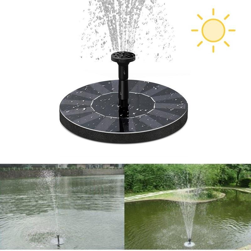 New solar Water Pump Power Panel Kit Fountain Pool Garden Pond Submersible Watering Display with English Manaul