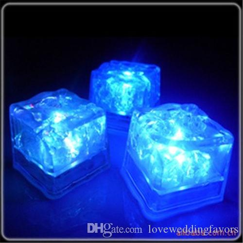6 Couleurs - 24pcs Led Light Cube De Noce Bar Halloween Tables De Mariage De Noel De Noel