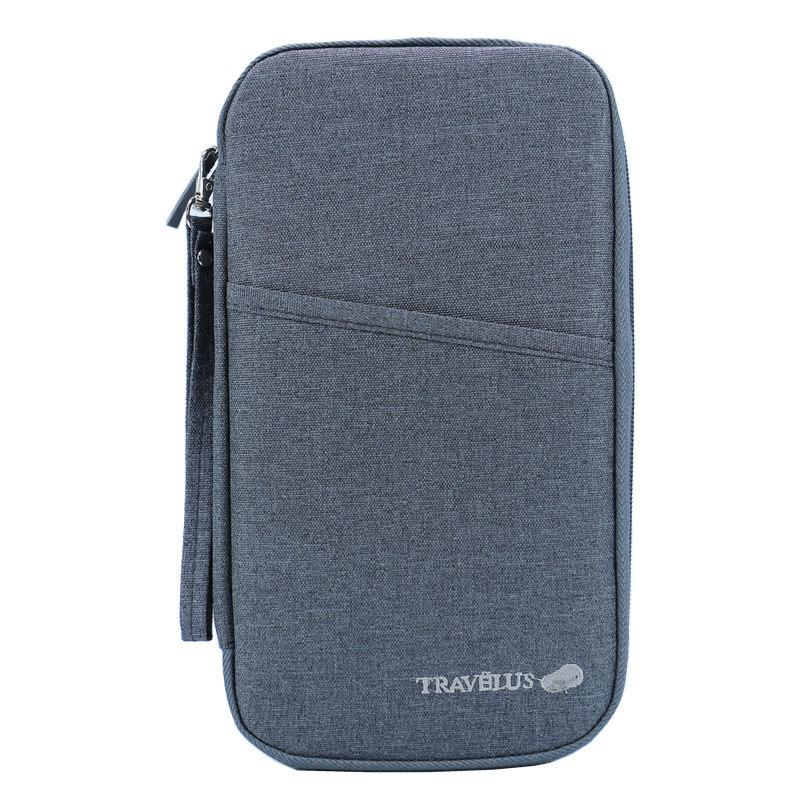 Brand Travel Journey Document Organizer Wallet Passport ID Card Holder Ticket Credit Card Bag Case Free Shipping