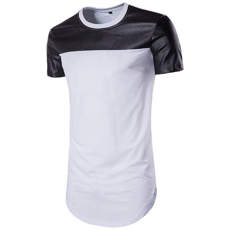Shirt Fashion Brand T Shirts Summer For Designer Tees Wholesale Short Sleeve Leather Pop T 2019 Men Skxkw
