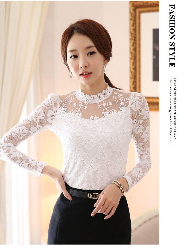 lace blouse 516