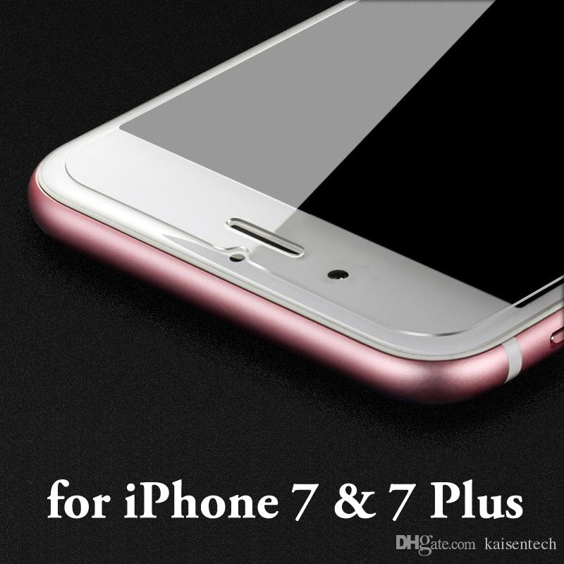 2.5D atacado temperado protetor de tela de vidro para iPhone 8 7 6s além de película protetora de vidro para iPhone 5s 5 se filme de vidro