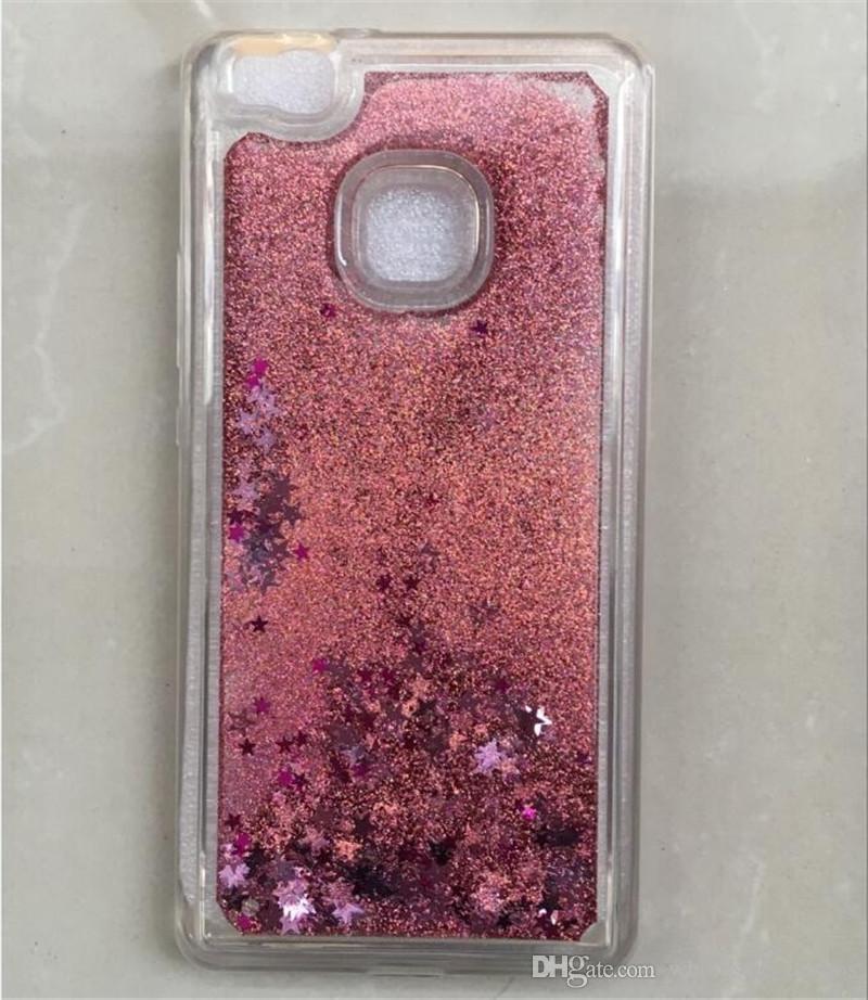 Liquid glitter case transparent dynamische farbe sand quicksand star rückseitige abdeckung telefon case für samsung auf 5 auf 7 a3 2017 a5 2017 a7 2017