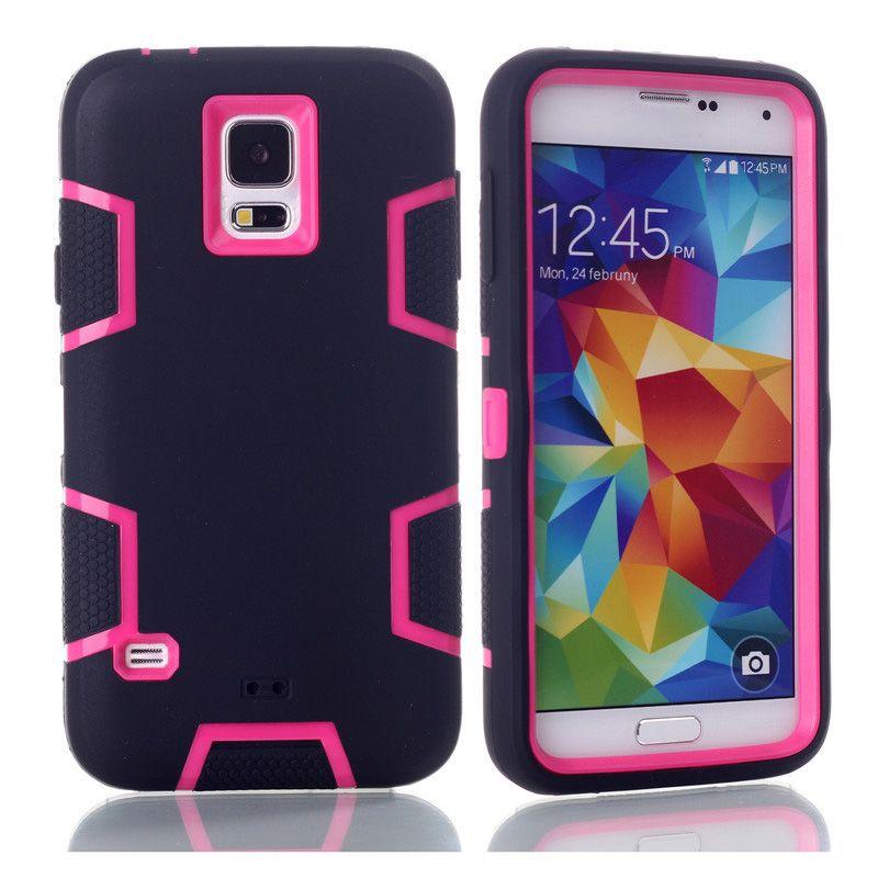 Antichoc Housse De Protection Pour Samsung Galaxy S5 Hybride Silicone Armure Dur Housse Coque Coque Pour Samsung S5 Cas Proposé Par Iteck, 2,77 €   ...