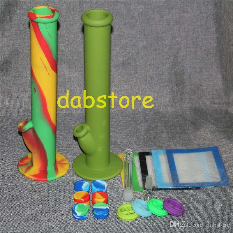 Non-stick silicone Wax Container 5ml Silicon containers wax jars dab tool storage oil Jars Concentrate Case silicone water pipes bong