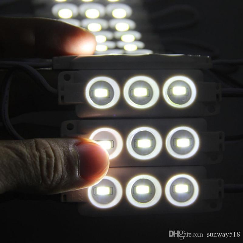 السوبر مشرق بقيادة وحدات 6500K أبيض بارد SMD 5630 / SMD 5050 RGB LED رقاقة Wateproof IP67 R / G / B / الدافئة الابيض 12V أدى الإعلان الخفيفة