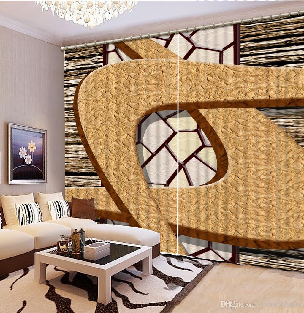 2019 High Quality Customize Size Modern Curtains For Living Room Fashion Bedding Room 3d Curtains From Yiwuwallpaper 321 61 Dhgate Com