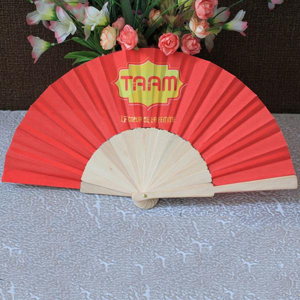 2018 Multi Colored Bamboo Wooden Hand Fan Dance Performance Fan Favors Christmashome Decoration Propsaccessoriesstage Hand Held Fans From