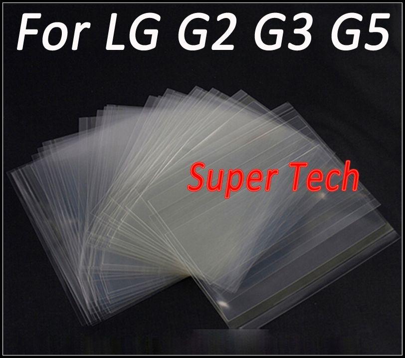 ل lg g5 h850 vs987 oca ملصقا ضعف الجانب بصري واضح لاصق ل g3 d850 d855 g2 vs980 d801 250um سمك شحن مجاني