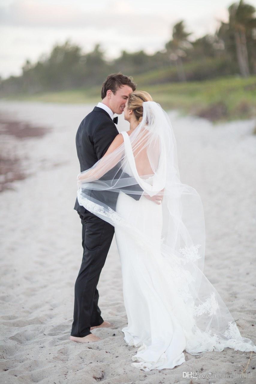 Scoop Mermaid Simple Wedding Dresses Elegant Backless Abiti Da Sposa ...