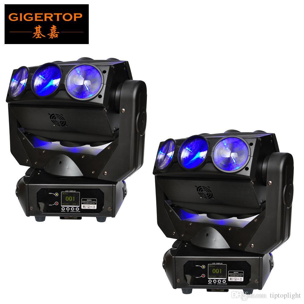Başkanı Işık 9x12W Mirage Yeni Tasarım DMX 512 DJ Aydınlatma Sahne Ekipmanları Hareketli İndirim Fiyatı Sahne Aydınlatma 2x LED Işın