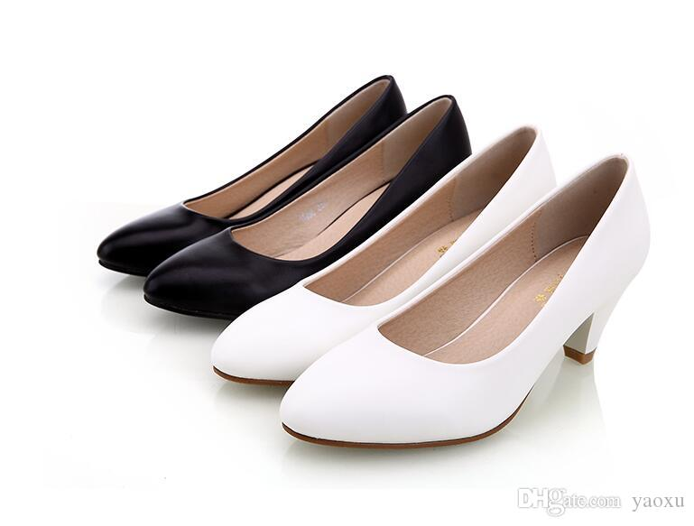 Black Women Shoes Pumps Ladies Medium