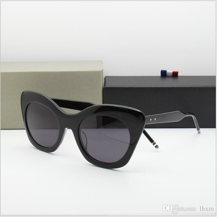 TB508 Mulheres Cateye Sunglass Cat Eye Óculos De Sol Das Mulheres Óculos Ovais Retro Feminino Óculos de Sol de Luxo Moda Feminina Óculos oculos feminino