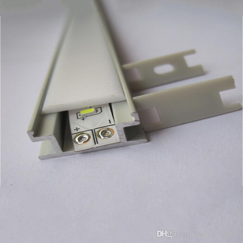 10 X 1M sets/lot Al6063 T6 H type aluminium profile for led strips and alu profile led for flooring or ground lamps