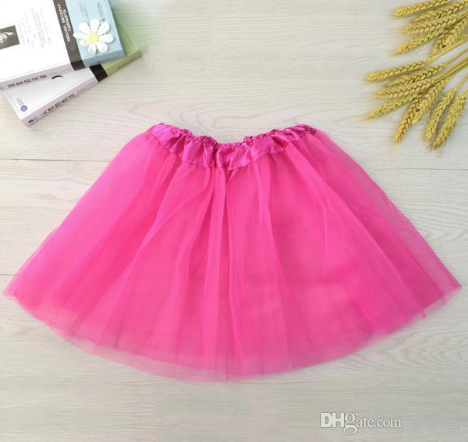 Compre es Baby Tutu Vestidos Niños Niñas Ballet Dancewear Mini Falda ...
