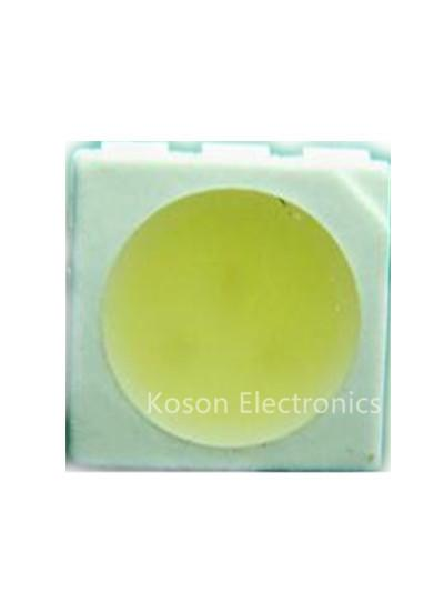 Wholesale- 10pcs Light Diode 5050 yellow SMD/SMT LED High Power Water Clear LED PLCC-6 3-CHIPS Super Bright lamp light