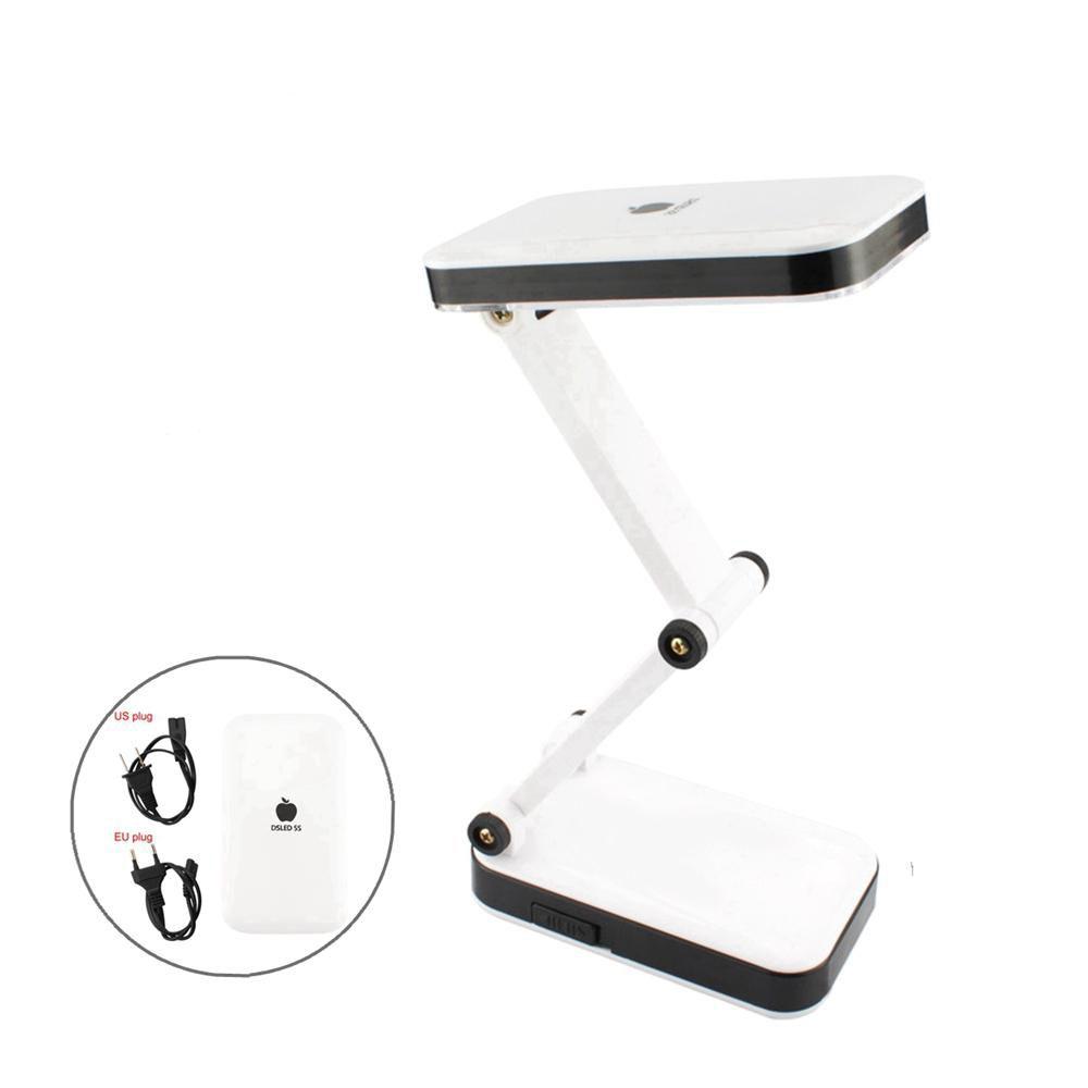 현대 접이식 조절 충전 책상 램프 테이블 램프 침실 조명 거실 독서에 24 LED와 충전식 LED 라이트