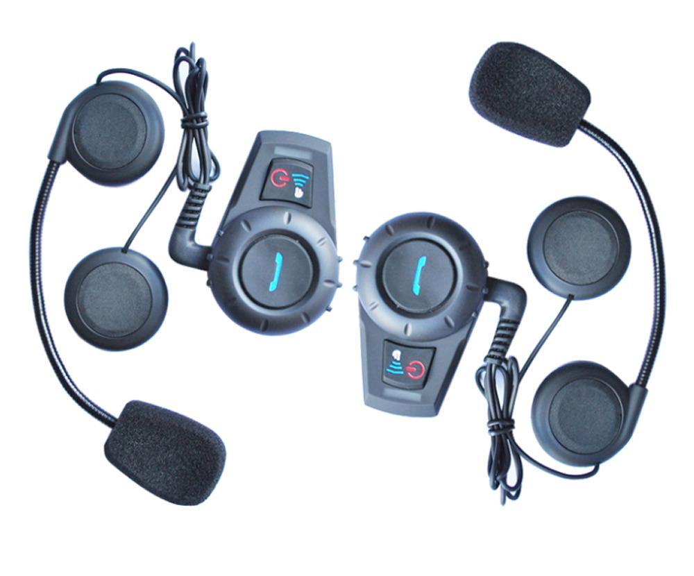 Freeshipping M1035BT interfone Bluetooth Moto capacete da motocicleta speaker sistema de interfone fone de ouvido intercomunicador capacete 500 m