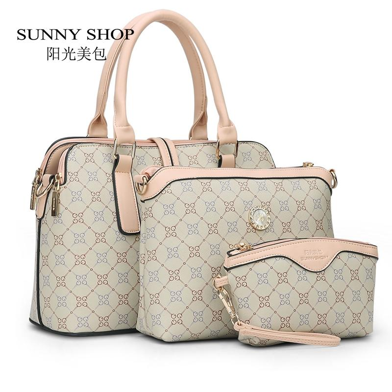 Wholesale SUNNY SHOP3 BagNew Mother Handbag Brand Designer Women Bag Letter  Striped Fashion Femal Bags Shoulder Bags Gift For Mother Toting Leather  Backpack ... 85de1f07a24f8