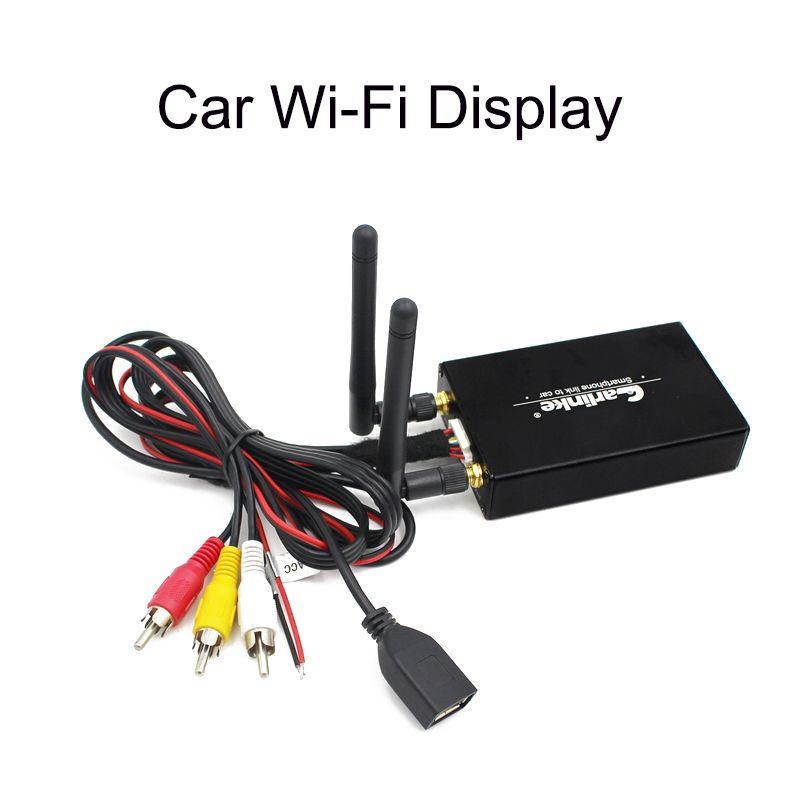 Enlace de ESPEJO COCHE//Home Wifi Pantalla Con Airplay Miracast DLNA para IPHONE ANDROID