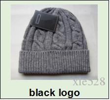 Fashion Unisex Spring Winter Hats for Men women Knitted Beanie Wool Hat Man Knit Bonnet Polo Beanie Gorros Chapeu Thicken Warm Cap