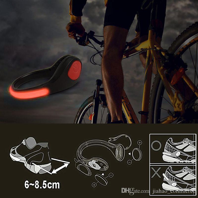Nouveaux produits Night Running Clips de chaussures à LED pour cyclisme, chaussures de sport Signal de sécurité Neon Run LED Shoes