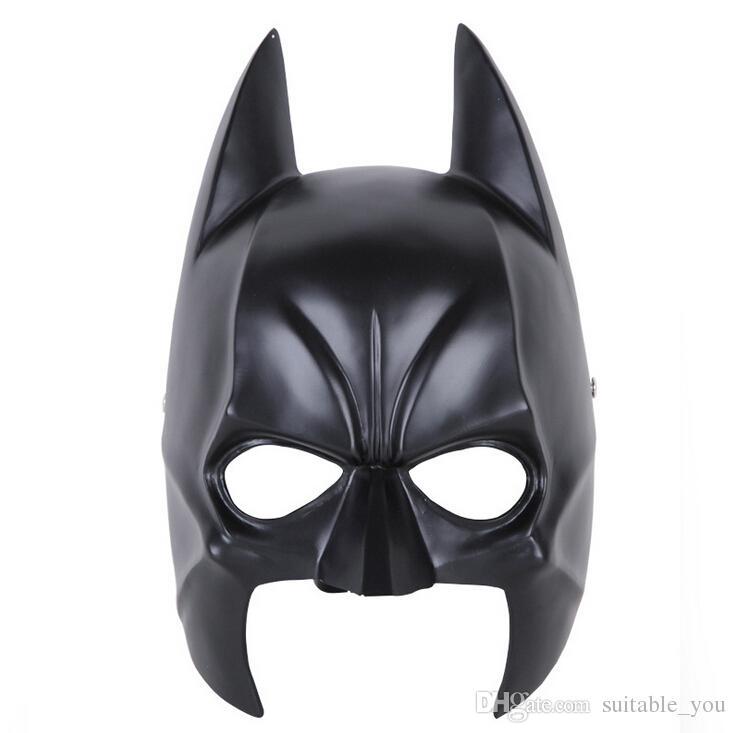 1pcs / lot maschere del partito di faccia della mascherina della maschera della mascherina della maschera della resina di Batman dell'eroe per la raccolta