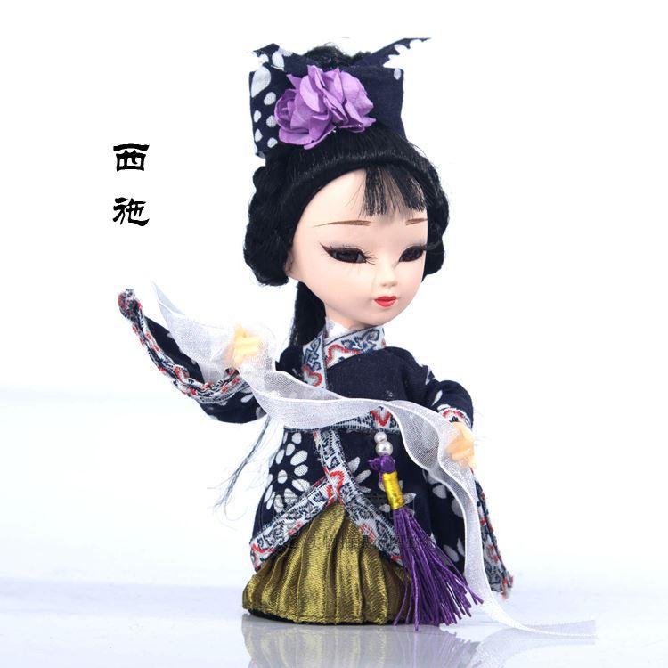 Regali di affari di vento cinese della bambola di seta di trasporto per inviare agli stranieri gli ornamenti artigianali speciali della bambola bambola di Pechino
