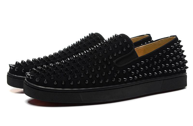 Luxury Designer Red Bottom Loafers For