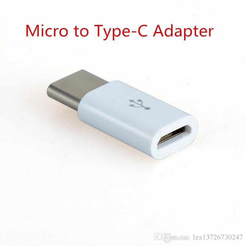 Yüksek Kaliteli Cep Dostu Boyutu Otokatalitik Kaplama ABS Mikro USB 3.1 Tip-C Hızlı Veri Senk Aktarım Şarj Adaptörü