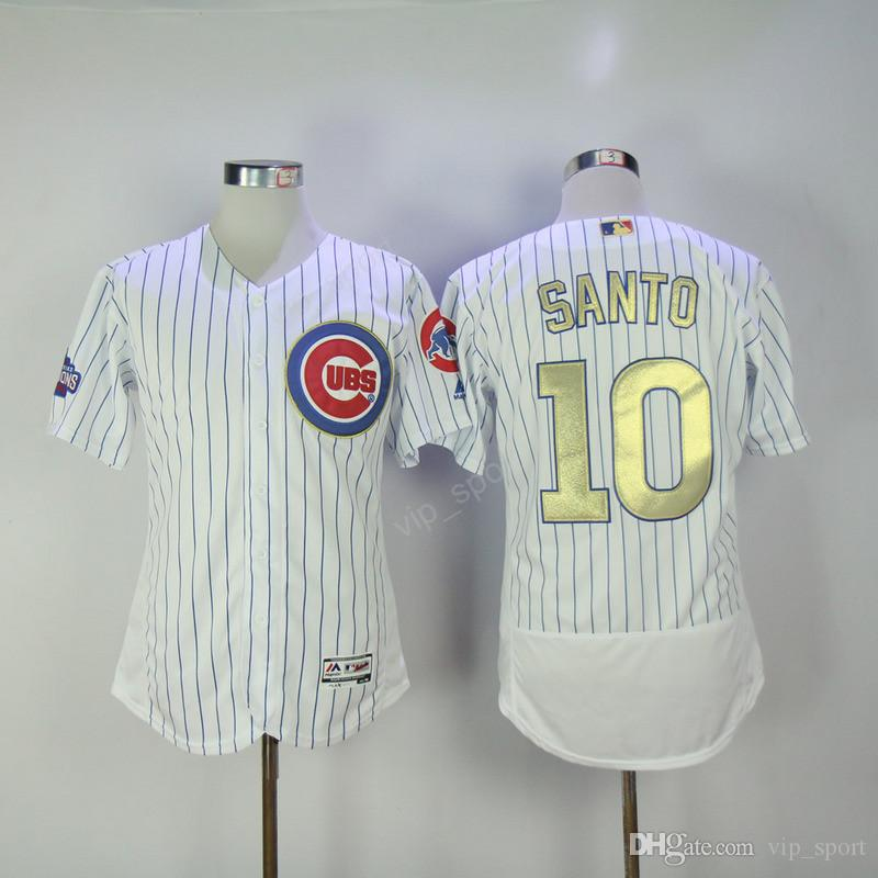 2017 chicago cubs 10 ron santo baseball jerseys 1942 cream 1969 white pinstripe 1968 hemp gray