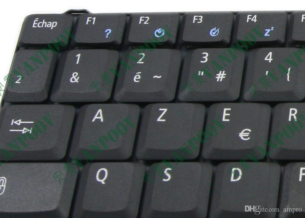 New Notebook Laptop keyboard for Acer Aspire 1360 1520 1660 3010 5010 Series Black French FR AZERTY Clavier - NSK-A430F