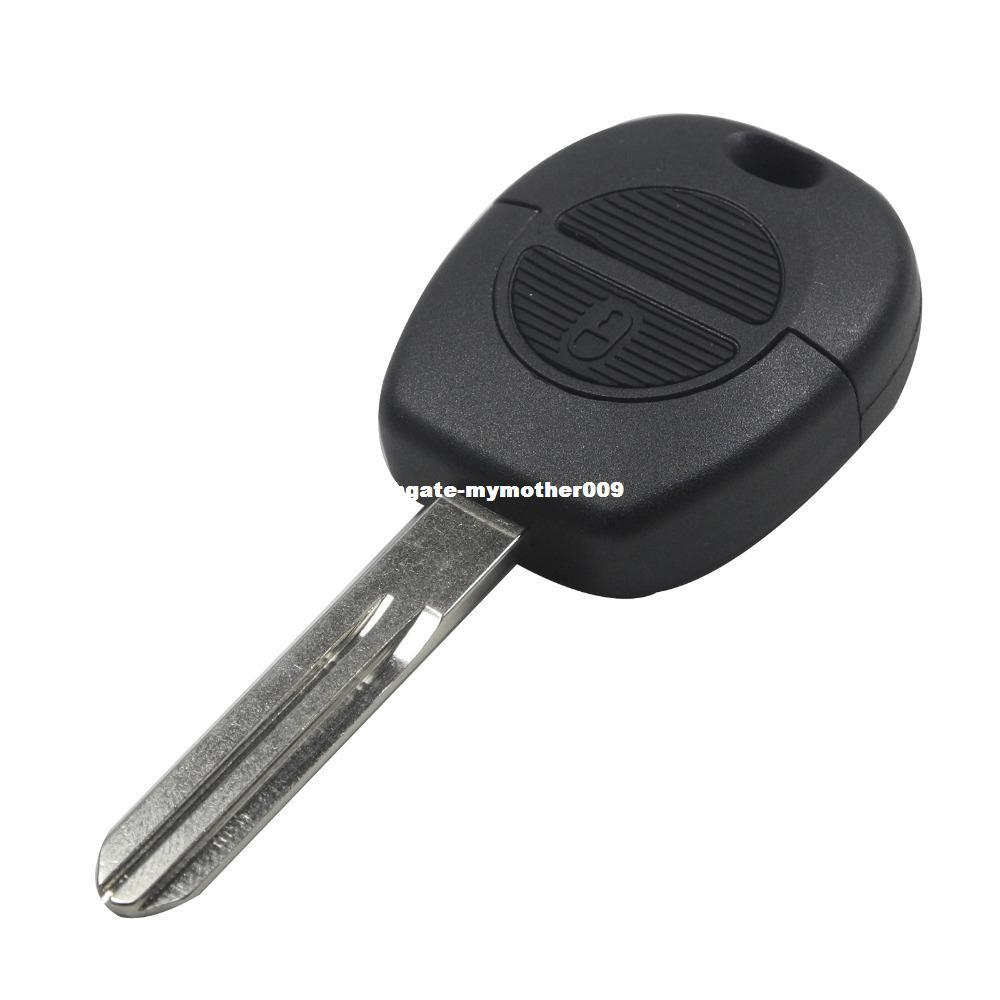 2 Button Remote Flip Fob Car Key Shell Stying For Nissan Micra Almera Primera X-Trail Replacement Uncut Blade Car Key Case Cover