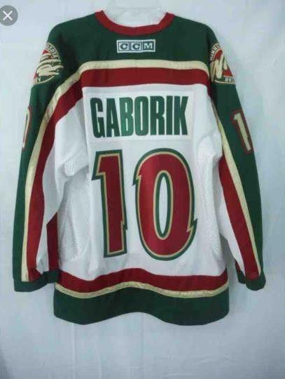 new style 739bf 3b5e2 2019 #10 MARIAN GABORIK Jerseys Minnesota Wild Vintag #24 Derek Boogaard 37  Wes Walz Custom Hockey Jerseys All Stiched From Huohuo2014, $40.61 | ...