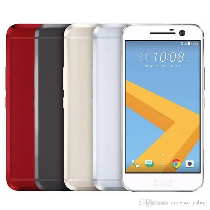 تم تجديده HTC الأصلي 10 M10 4G LTE 5.2 بوصة أنف العجل 820 رباعية النواة 4GB RAM 32GB ROM 12MP السريع شاحن الهاتف الروبوت دي إتش إل الحرة 1PCS