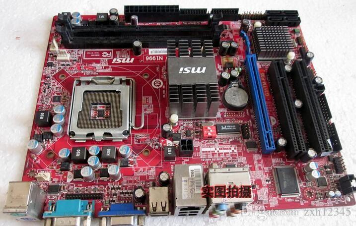 Scheda madre g31 utilizzata per la scheda madre MSI G31TM-P21 LGA775 DDR2 8G