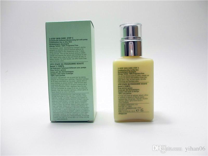 بيع التجزئة c العلامة التجارية حار بيع منتجات العناية بالبشرة الوجه زبدة ترطيب غسول مختلفة بشكل كبير + / جل لوسيون هلام زبدة الزيت 125ml