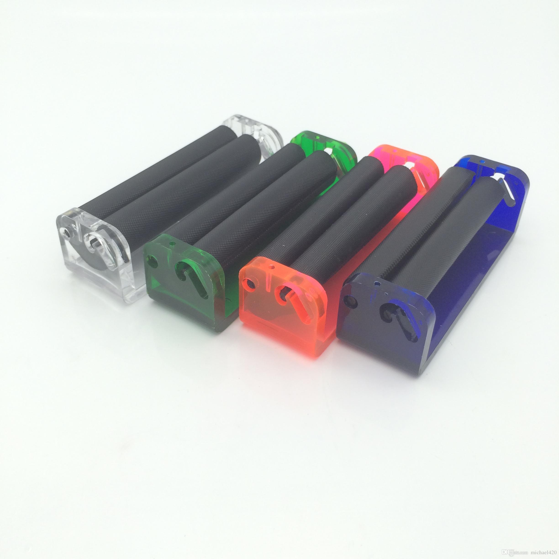 뜨거운 판매 새로운 색상 디자인 플라스틱 담배 담배 여과 수동 분사기 롤러 제조 공작 기계 Accesstroy