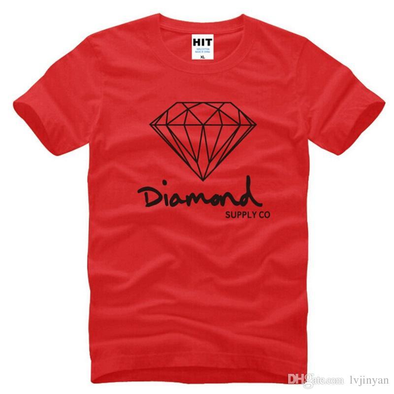 Diamond Supply Co Men/'s Number 1 T Shirt Black Tee T-Shirts Clothing Apparel